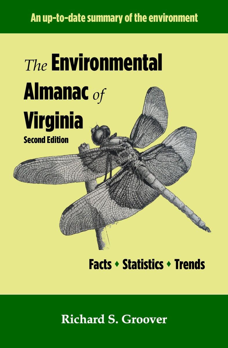 The Environmental Almanac of Virginia, 2nd Edition Book Cover 2
